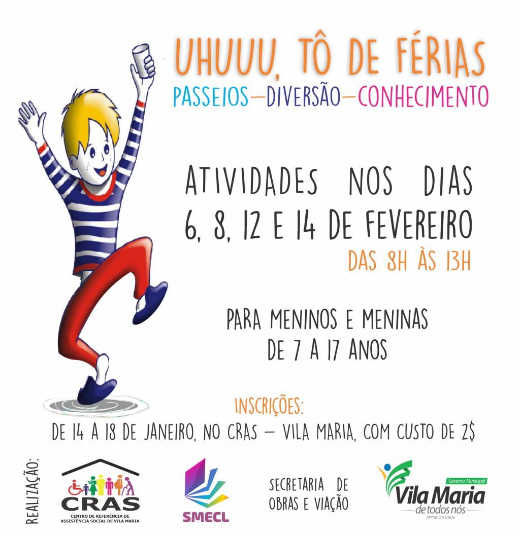 CRAS promove atividades...