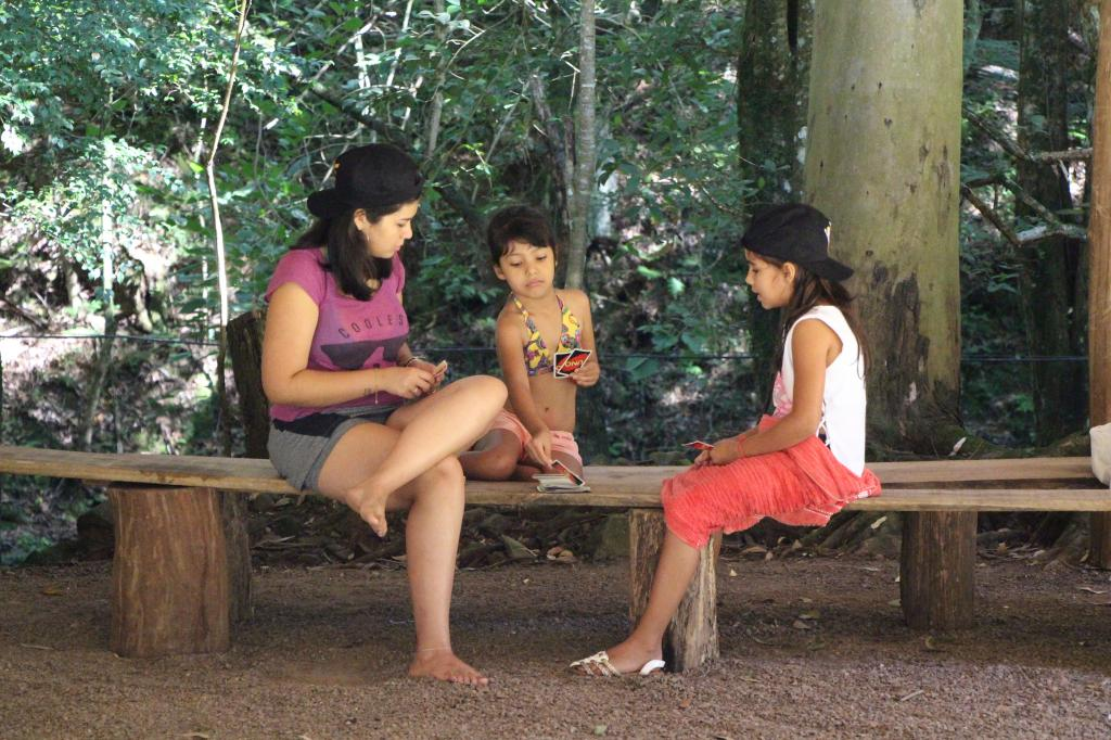 Imagem 4 - Primeiro dia do Uhuuu, tô de férias! promoveu visita à Cascata do Porongo