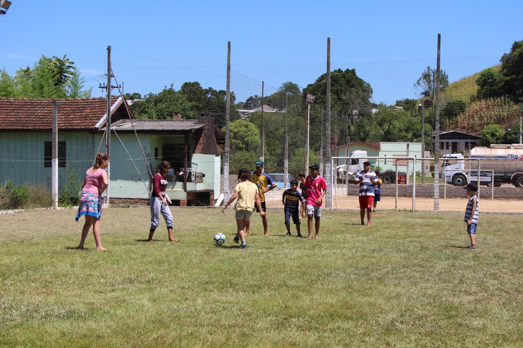 Imagem 1 - Segunda atividade do Uhuuu, tô de férias foi no XV de Novembro