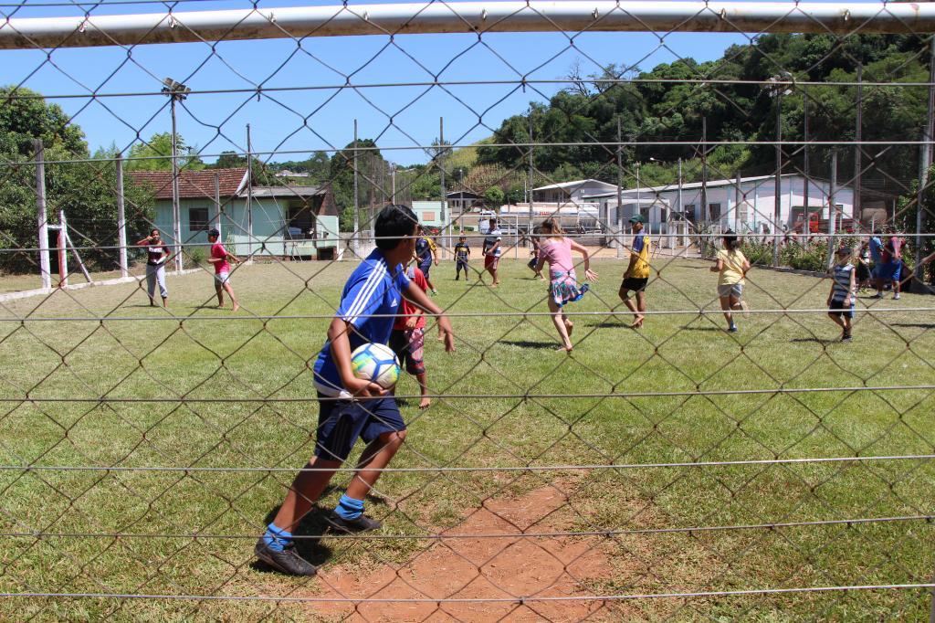 Imagem 9 - Segunda atividade do Uhuuu, tô de férias foi no XV de Novembro
