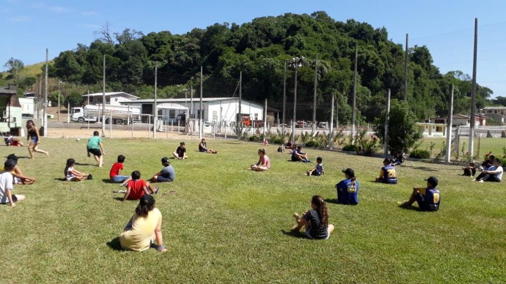 Imagem 4 - Segunda atividade do Uhuuu, tô de férias foi no XV de Novembro