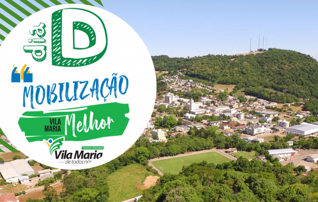 Prefeitura de Vila Maria promove mobilização de limpeza