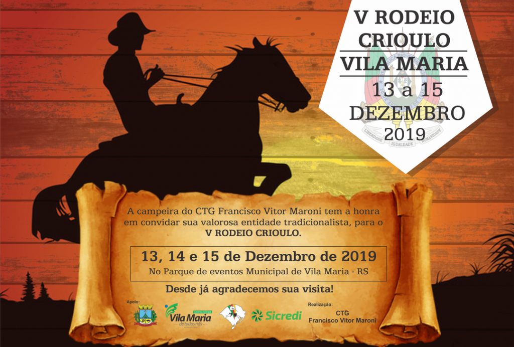 5º Rodeio Crioulo...
