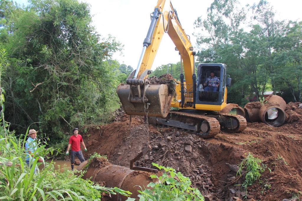 Mais uma ponte começa a ser construída em Vila Maria
