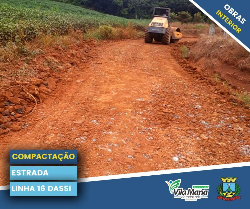 Imagem 9 - ATIVIDADES DA SECRETARIA DE OBRAS E VIAÇÃO NO INTERIOR DO MUNICÍPIO