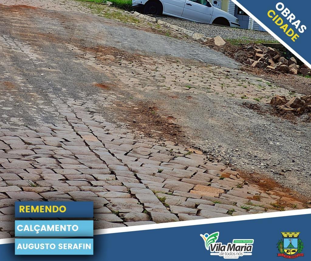 Imagem 2 - ATIVIDADES DA SECRETARIA DE OBRAS E VIAÇÃO NO PERÍMETRO URBANO