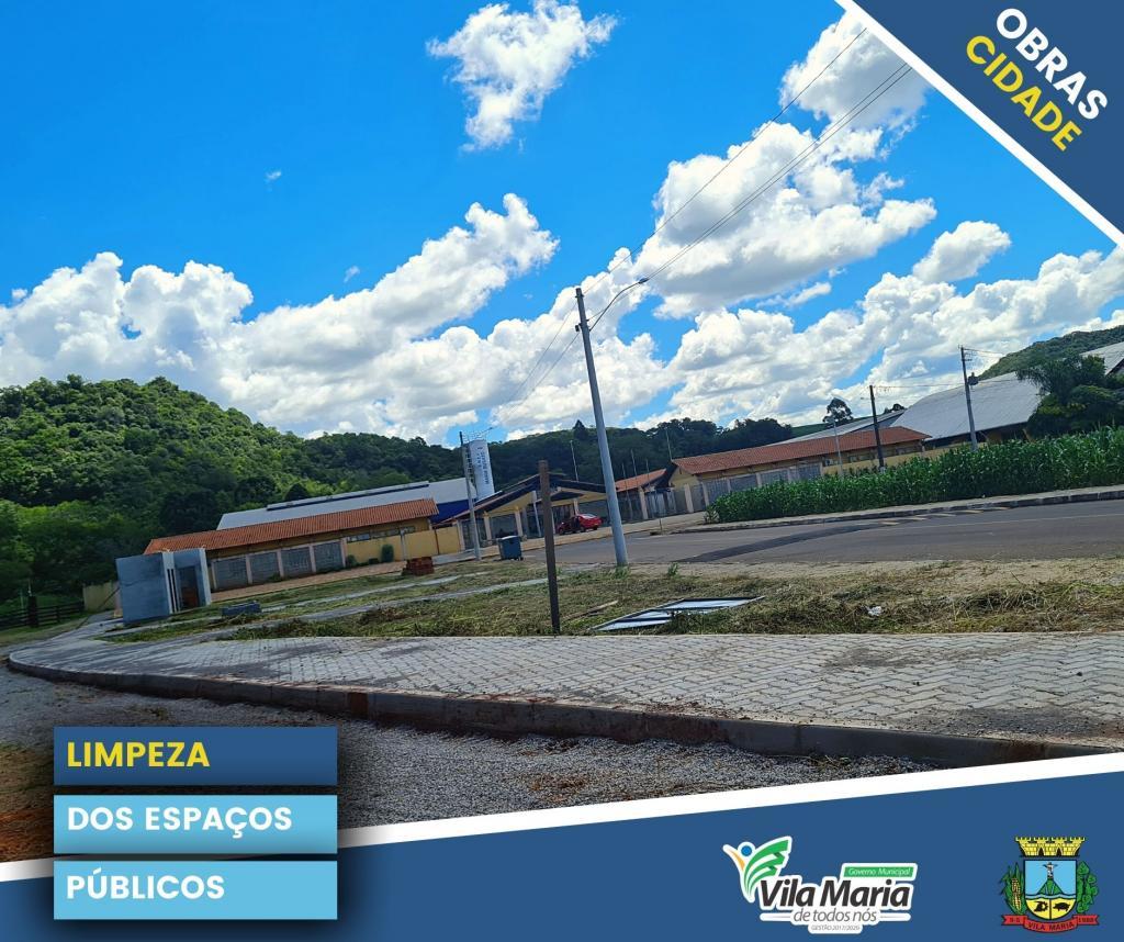 Imagem 3 - ATIVIDADES DA SECRETARIA DE OBRAS E VIAÇÃO NO PERÍMETRO URBANO