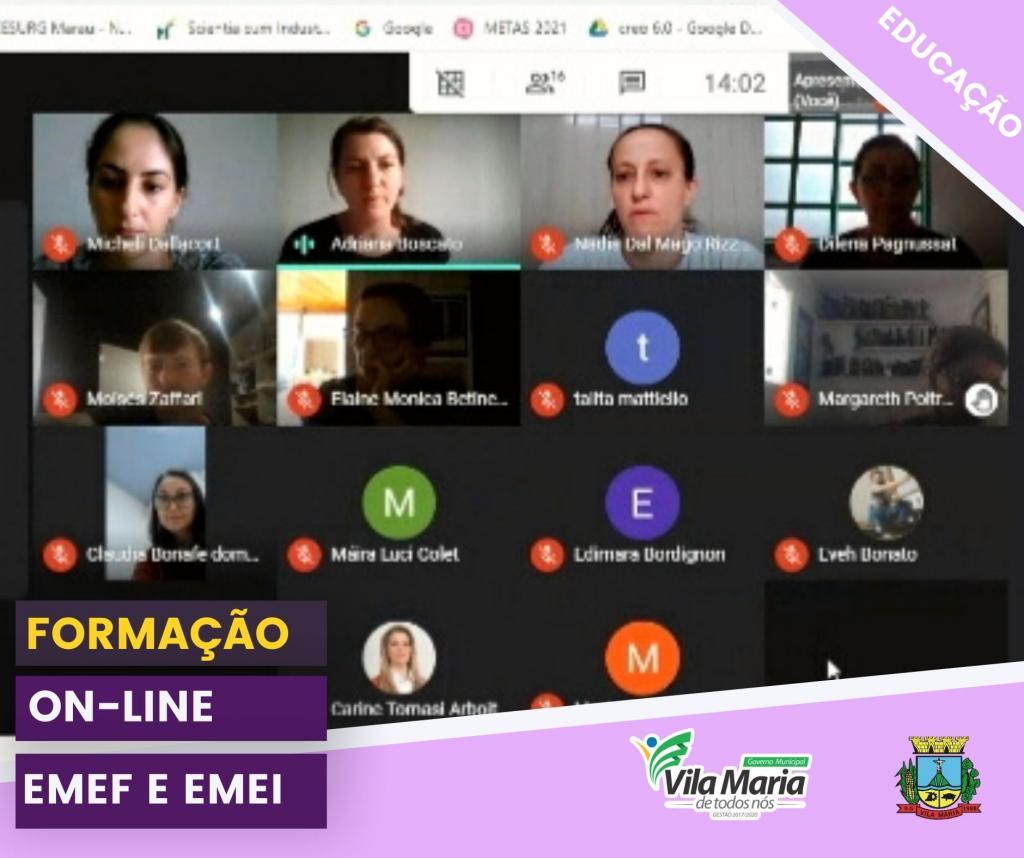 FORMAÇÃO ON-LINE PARA...