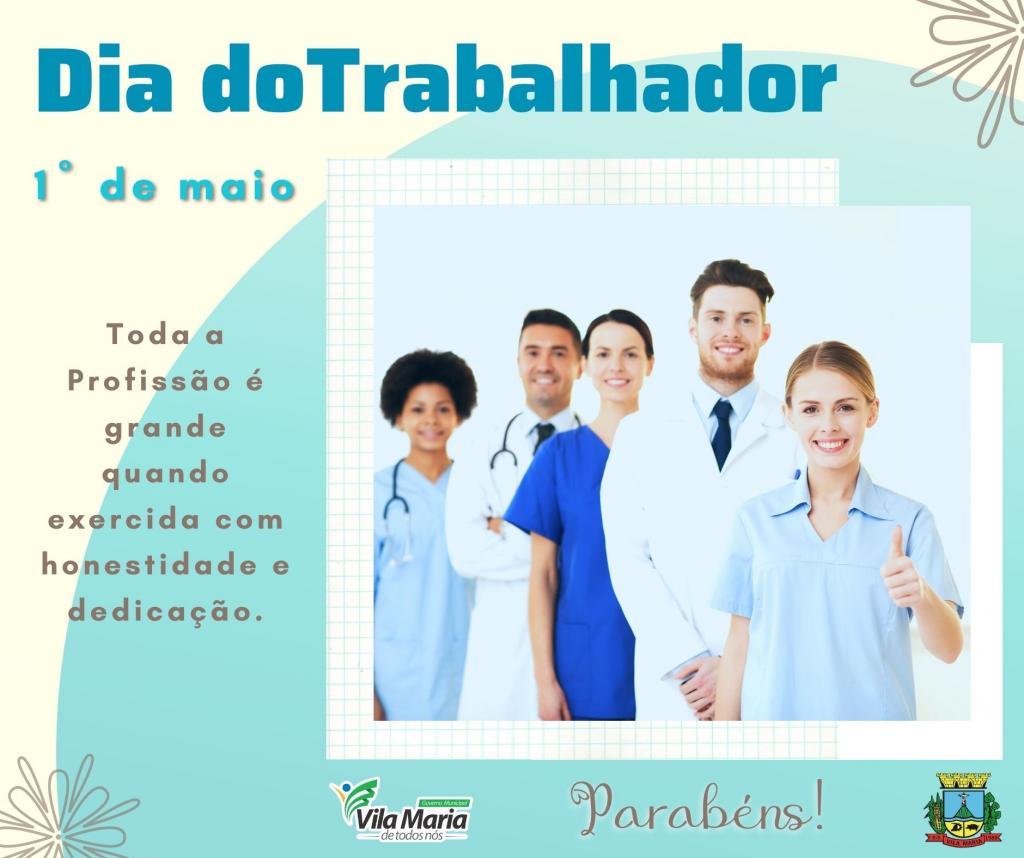 Imagem 2 - 1º DE MAIO DIA DO TRABALHADOR