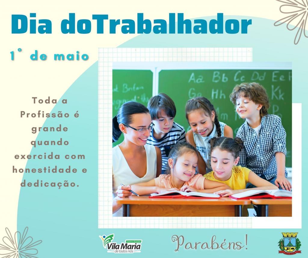 Imagem 3 - 1º DE MAIO DIA DO TRABALHADOR