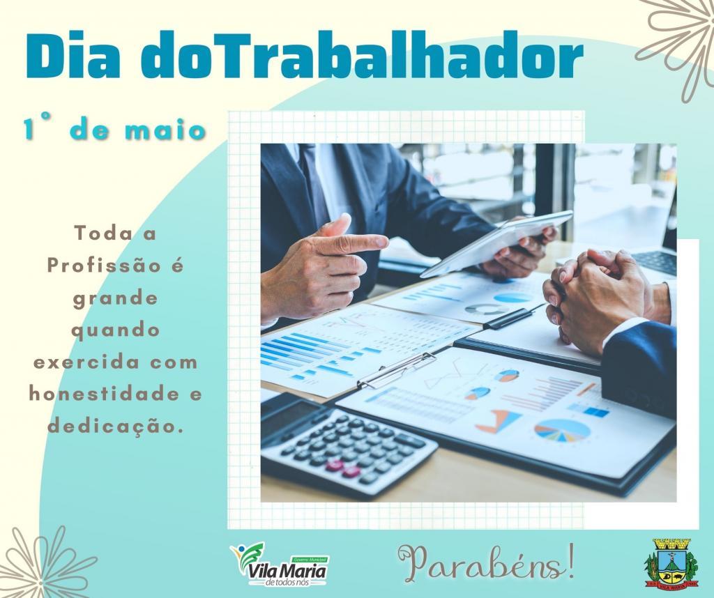 Imagem 4 - 1º DE MAIO DIA DO TRABALHADOR