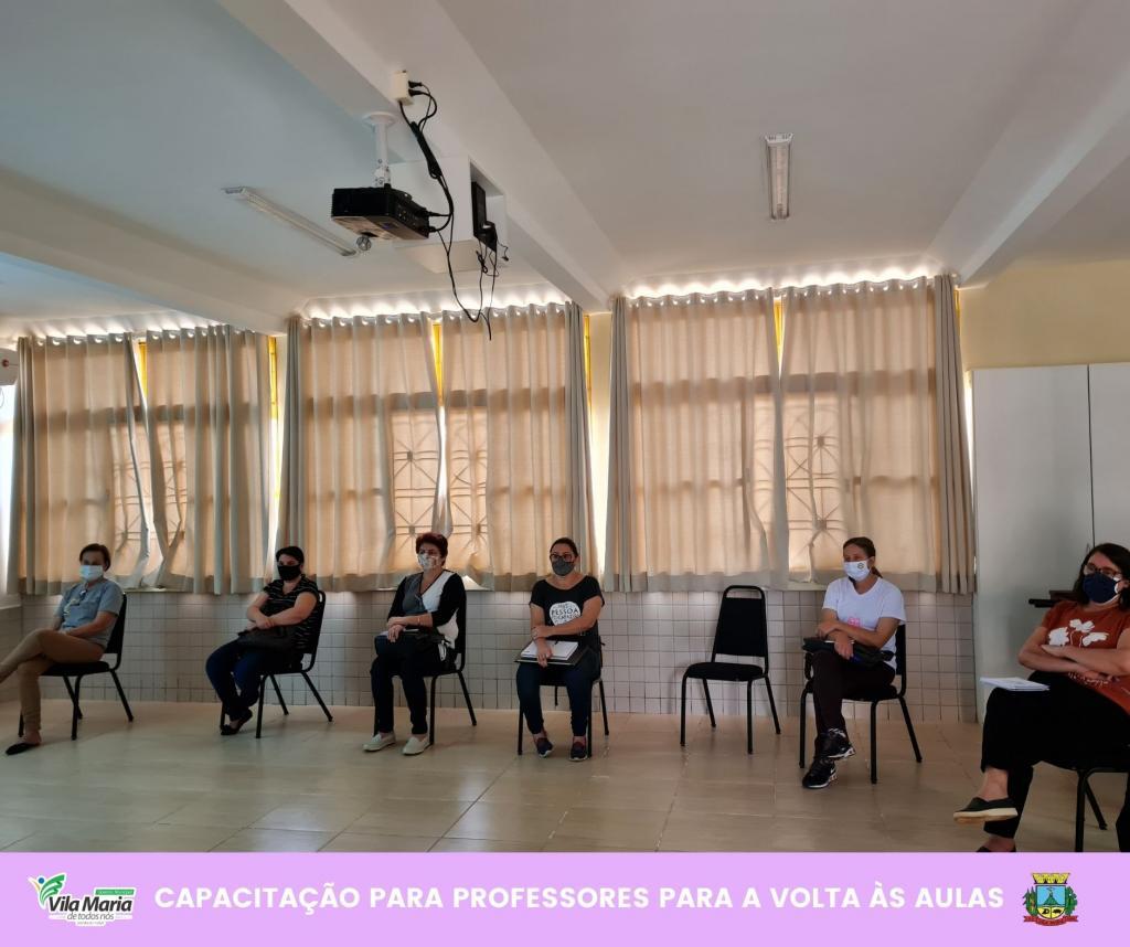 Imagem 1 - CAPACITAÇÃO PARA PROFESSORES DA REDE MUNICIPAL DE ENSINO