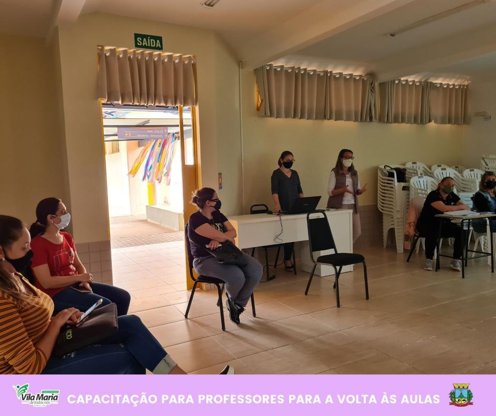 Imagem 4 - CAPACITAÇÃO PARA PROFESSORES DA REDE MUNICIPAL DE ENSINO