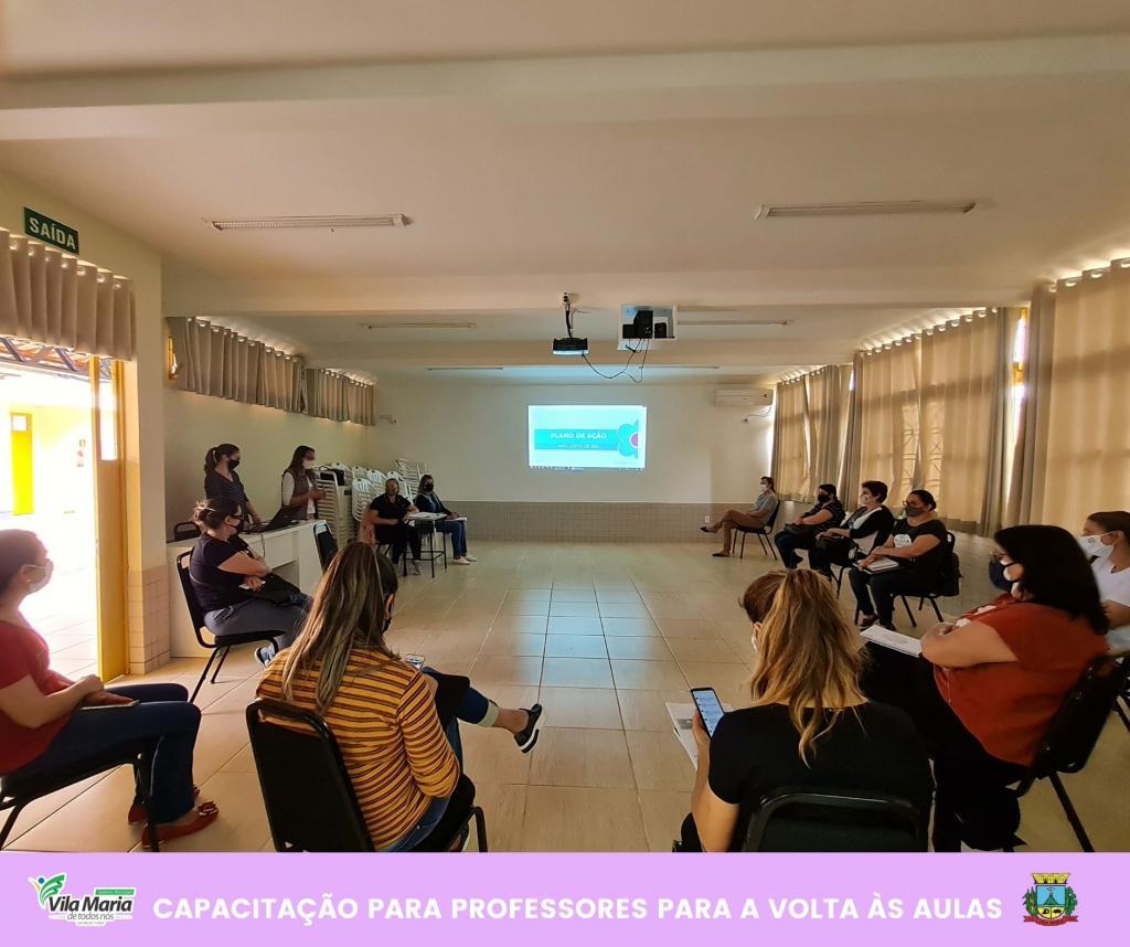 Imagem 3 - CAPACITAÇÃO PARA PROFESSORES DA REDE MUNICIPAL DE ENSINO