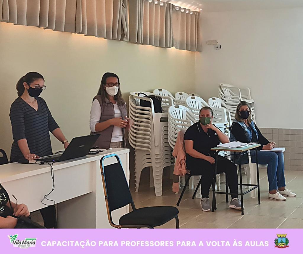 Imagem 2 - CAPACITAÇÃO PARA PROFESSORES DA REDE MUNICIPAL DE ENSINO