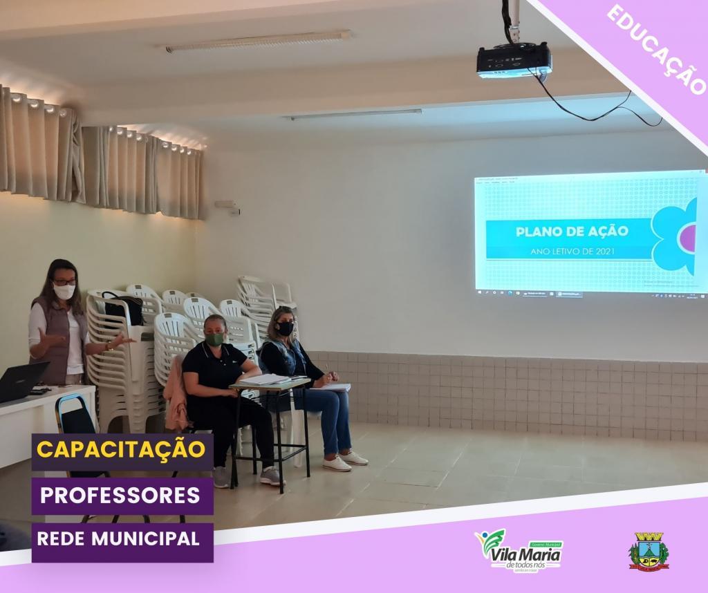 CAPACITAÇÃO PARA PROFESSORES DA REDE MUNICIPAL DE ENSINO