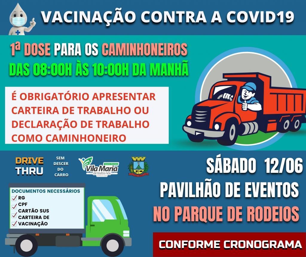 ATENÇÃO PARA O CRONOGRAMA DE VACINAÇÃO CONTRA A COVID-19 PARA ESTE SÁBADO
