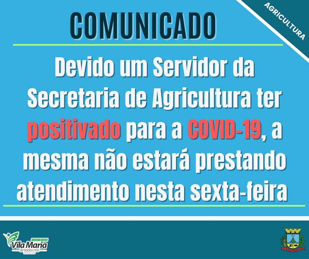 Imagem 1 - COMUNICADO