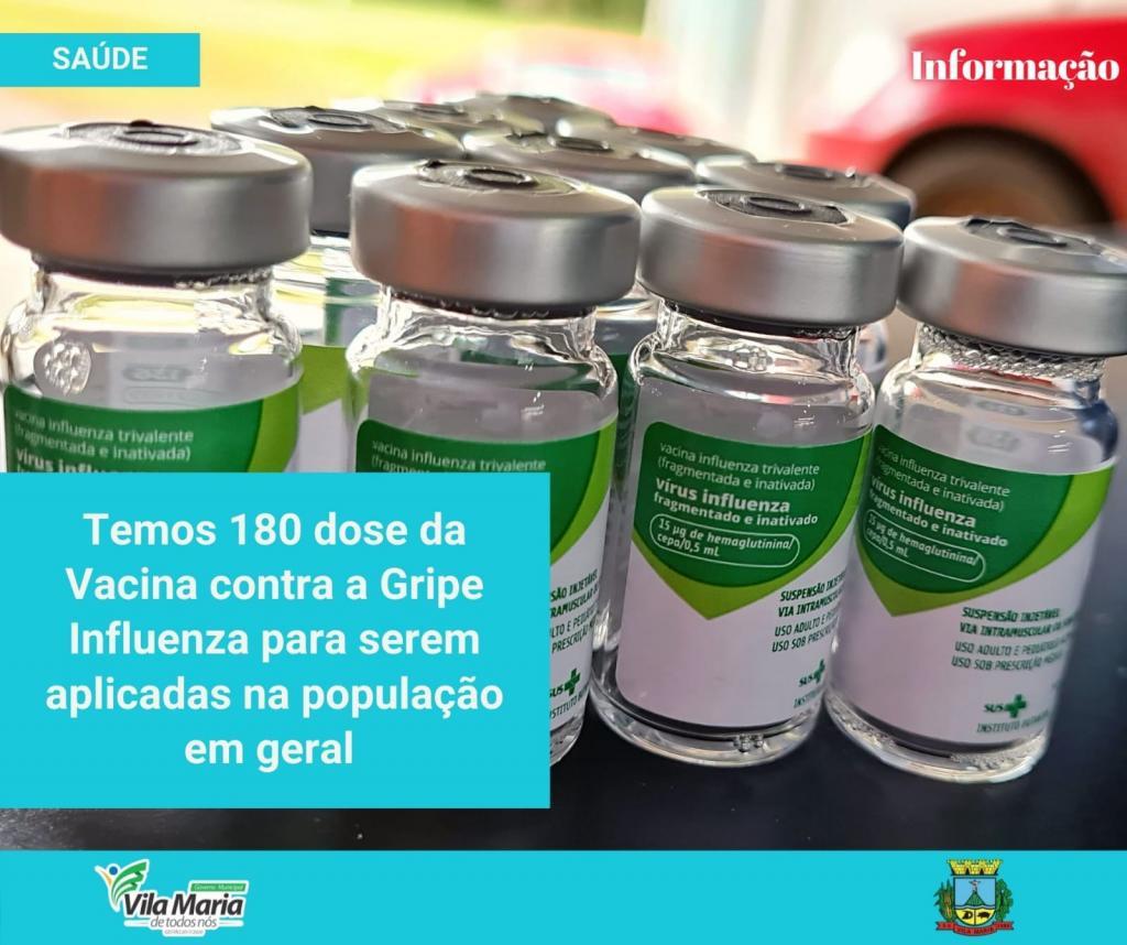 Imagem 1 - ATENÇÃO PARA A VACINAÇÃO CONTRA A GRIPE INFLUENZA
