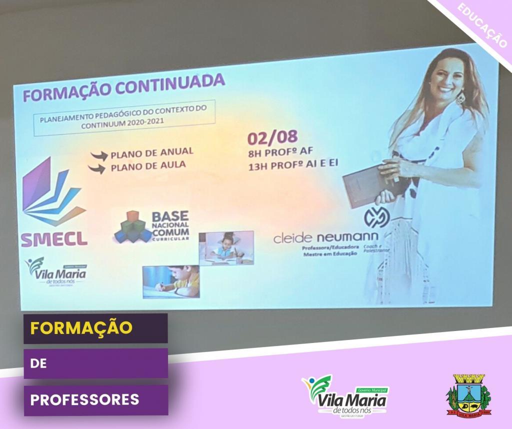 FORMAÇÃO DE PROFESSORES...